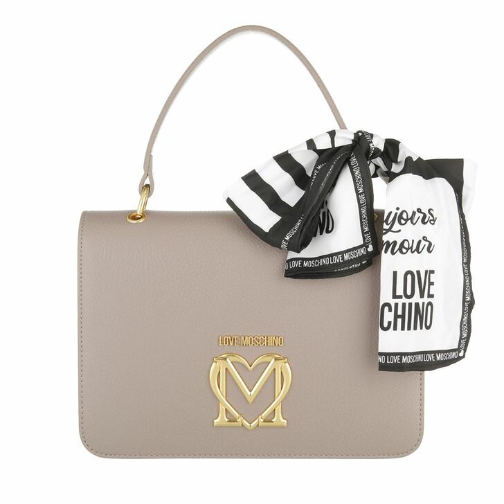 bags, Love Moschino, Borsa Pu  Grigio