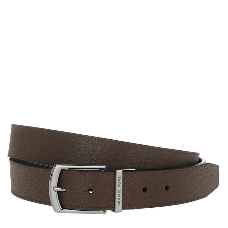 Gürtel, MICHAEL Michael Kors, Men 34Mm Dress Belt Mocha Black