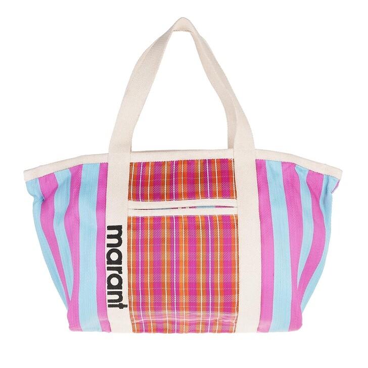bags, Isabel Marant, Medium Darwen Shopper Blue/Pink
