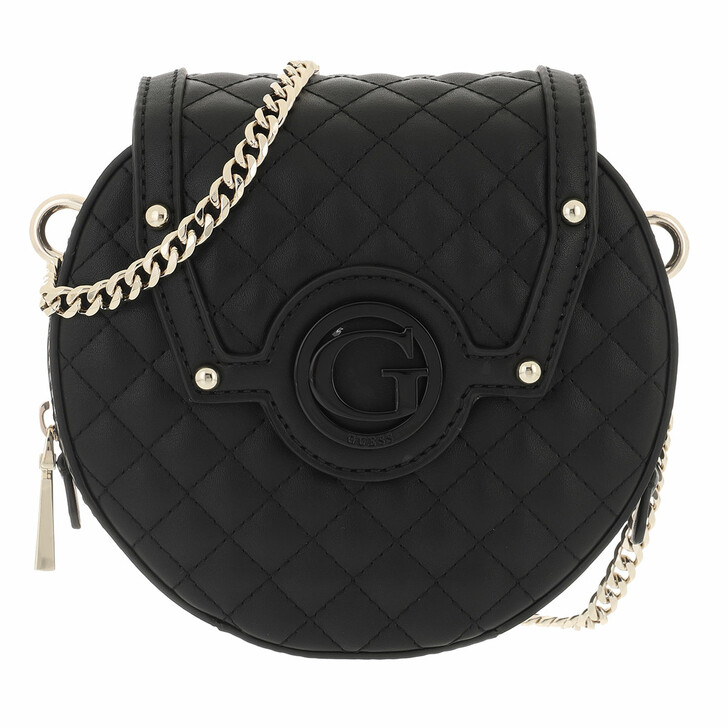 bags, Guess, Heyden Round Case Black