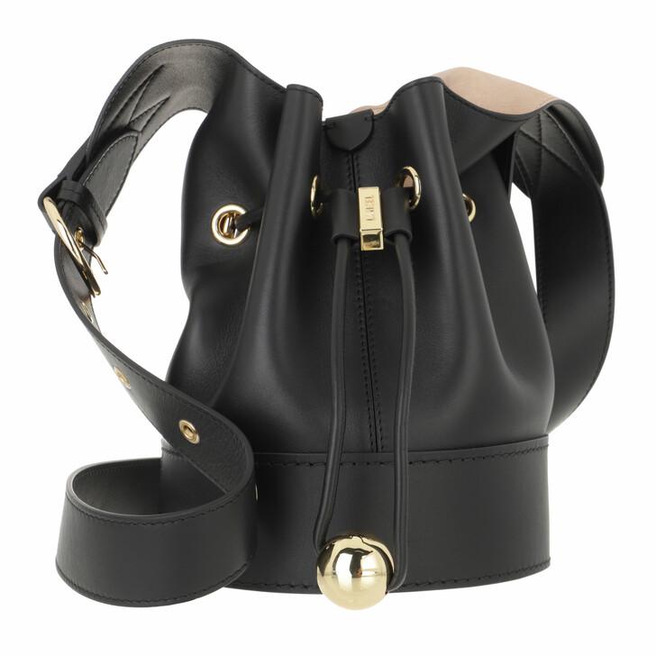 bags, Lancel, S Bucket Bag Black