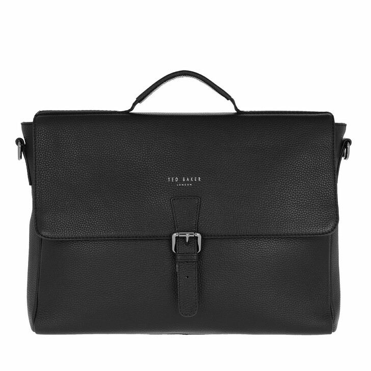Handtasche, Ted Baker, Men Departs Satchel Black