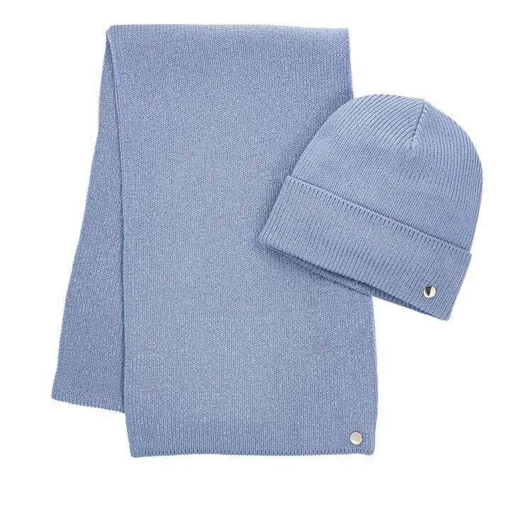 Schal, Hugo, Women-Xmas Set Bright Blue
