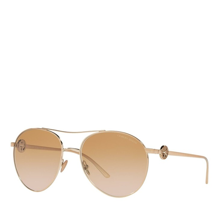 sunglasses, Giorgio Armani, 0AR6122B Rose Gold