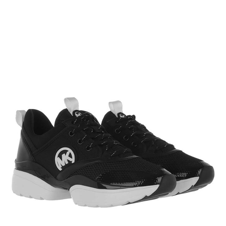 Schuh, MICHAEL Michael Kors, Charlie Sneakers Black