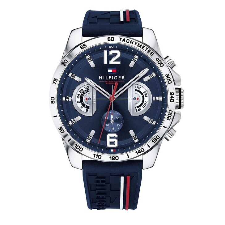 Uhr, Tommy Hilfiger, Multifunctional Watch Blue