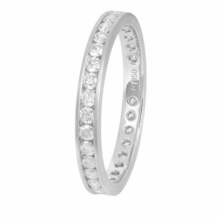 rings, VOLARE, Ring 33 Brill ca. 0,85 Platinum