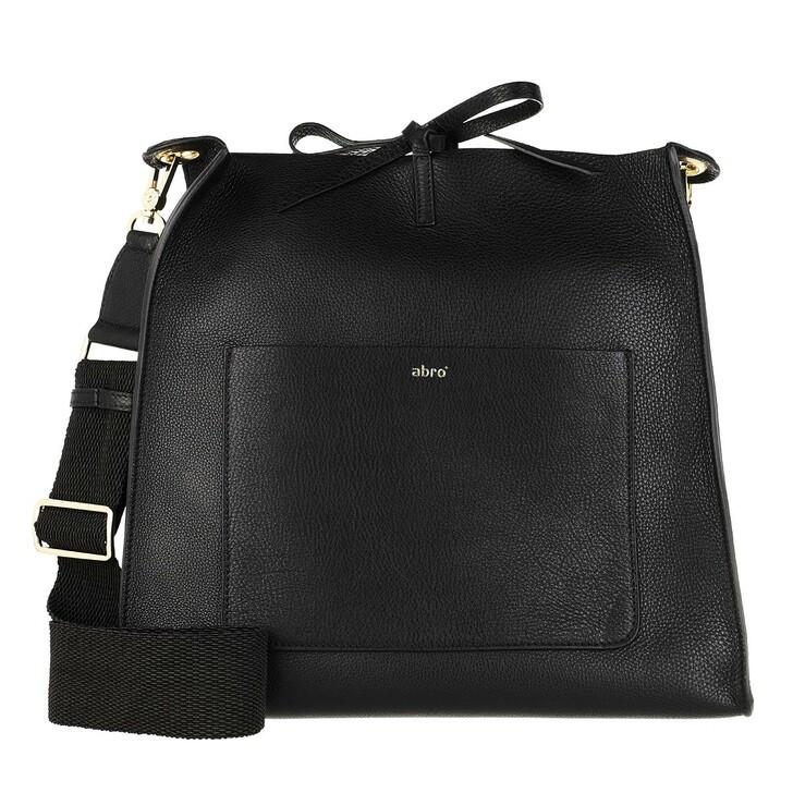 Handtasche, Abro, Large Crossbody Bag Raquel Black