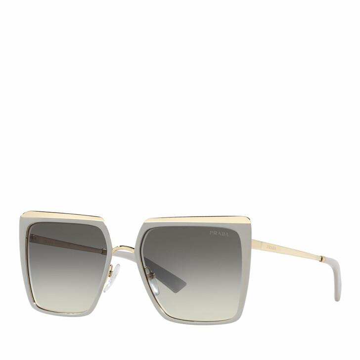 Sonnenbrille, Prada, 0PR 58WS ICE/PALE GOLD