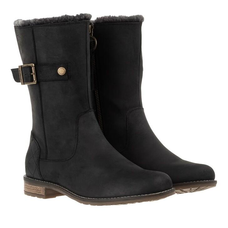 shoes, Barbour, Clare Boots Black