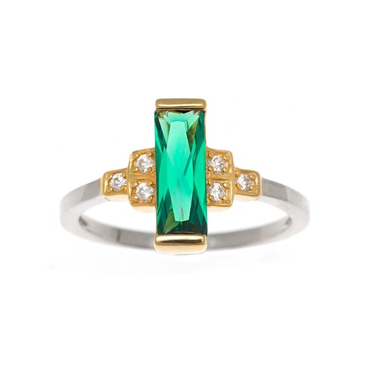 Ring, V by Laura Vann, Audrey Ring  Bicolor