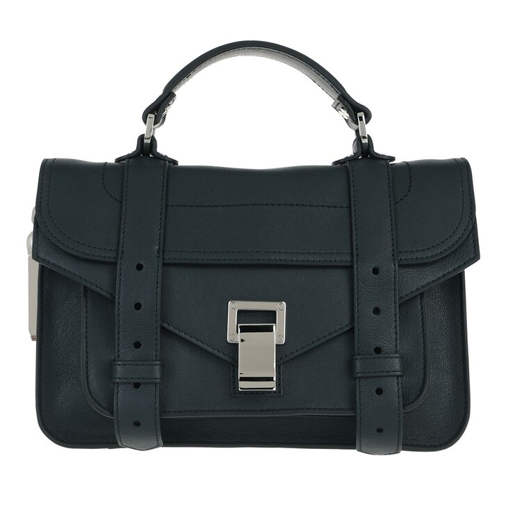 Handtasche, Proenza Schouler, PS1 Tiny Lux Crossbody Dark Navy