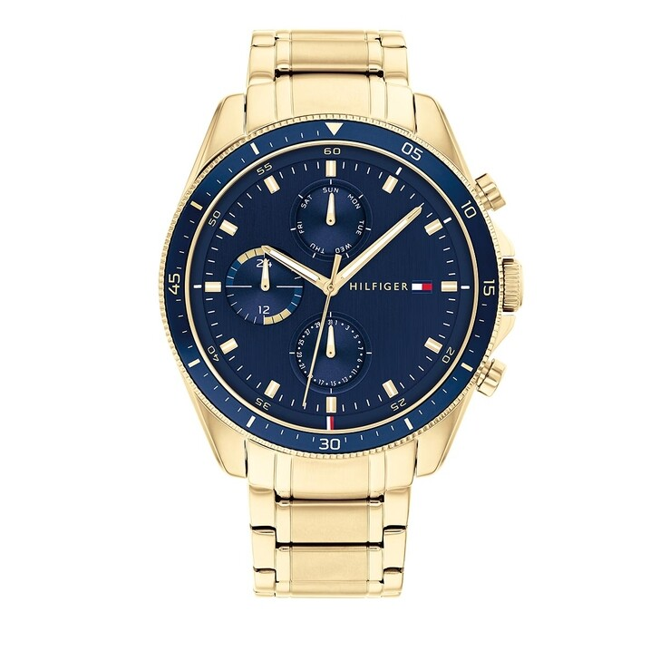 Uhr, Tommy Hilfiger, Multifunctional Watch Ionic Gold Plated Yellow Gold