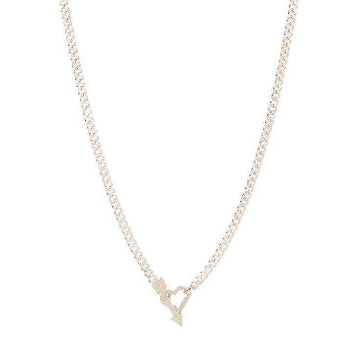 Kette, Saskia Diez, In Love Necklace 50 cm Silver