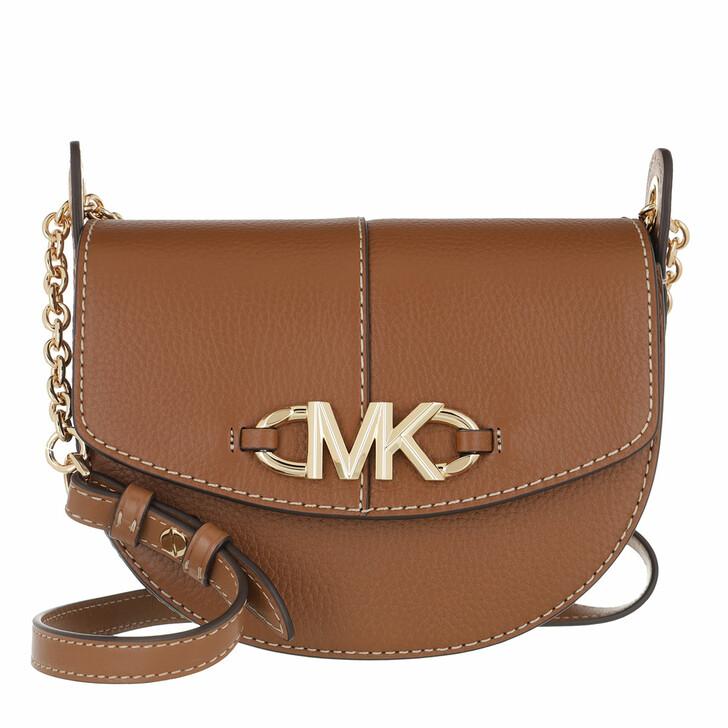 Handtasche, MICHAEL Michael Kors, Izzy Sm Conv Saddle Xbody Luggage