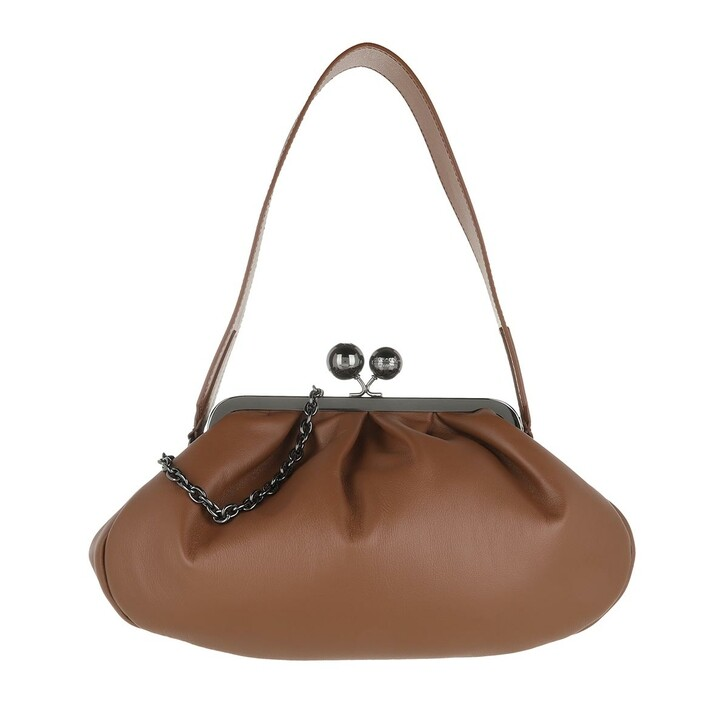 bags, WEEKEND Max Mara, Cubico2 Handbag Tobacco