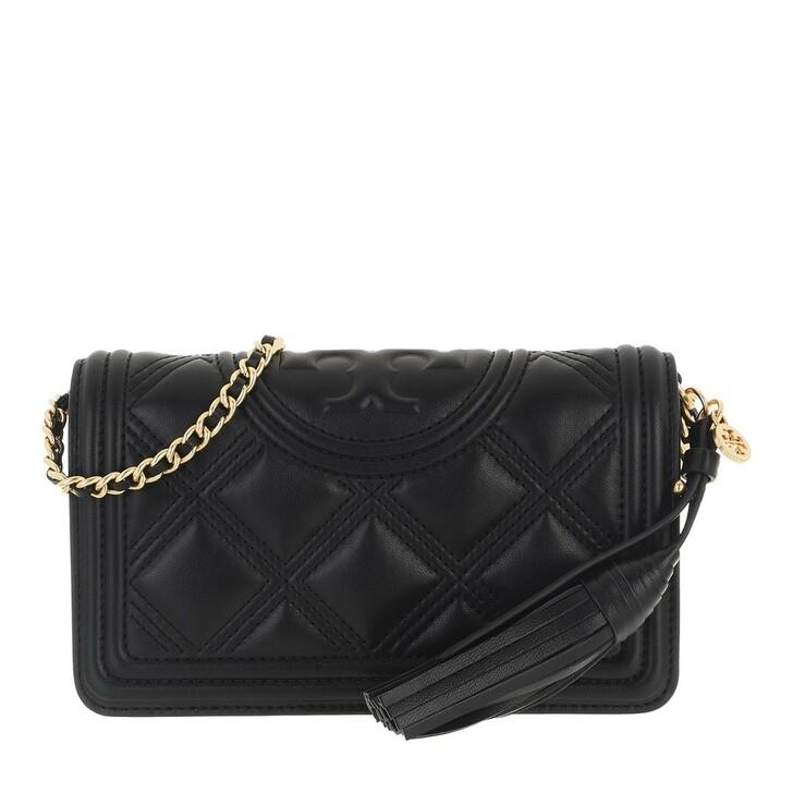Handtasche, Tory Burch, Fleming Soft Wallet Crossbody Black