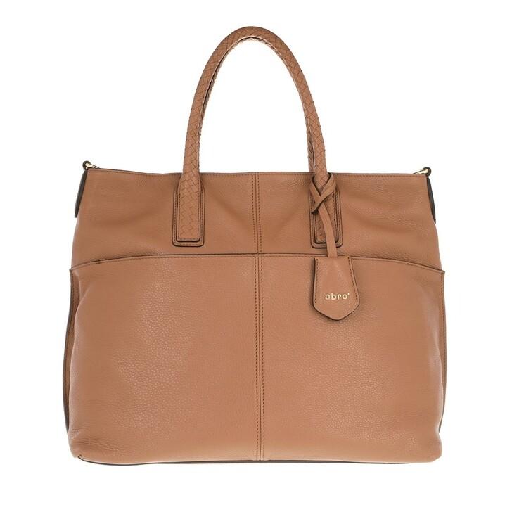 Handtasche, Abro, Large Shopper Sira Camel