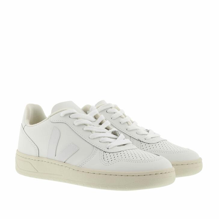 shoes, Veja, V-10 Leather  Extra-White