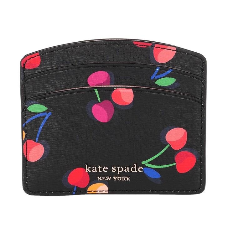 wallets, Kate Spade New York, Card Holder Black Multi
