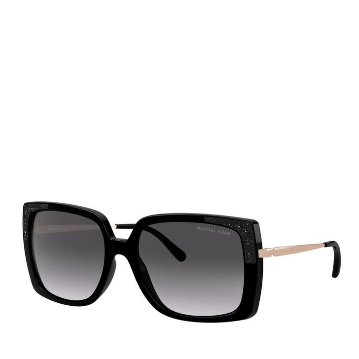 Sonnenbrille, Michael Kors, SPRITZGUSS WOMEN SONNE BLACK