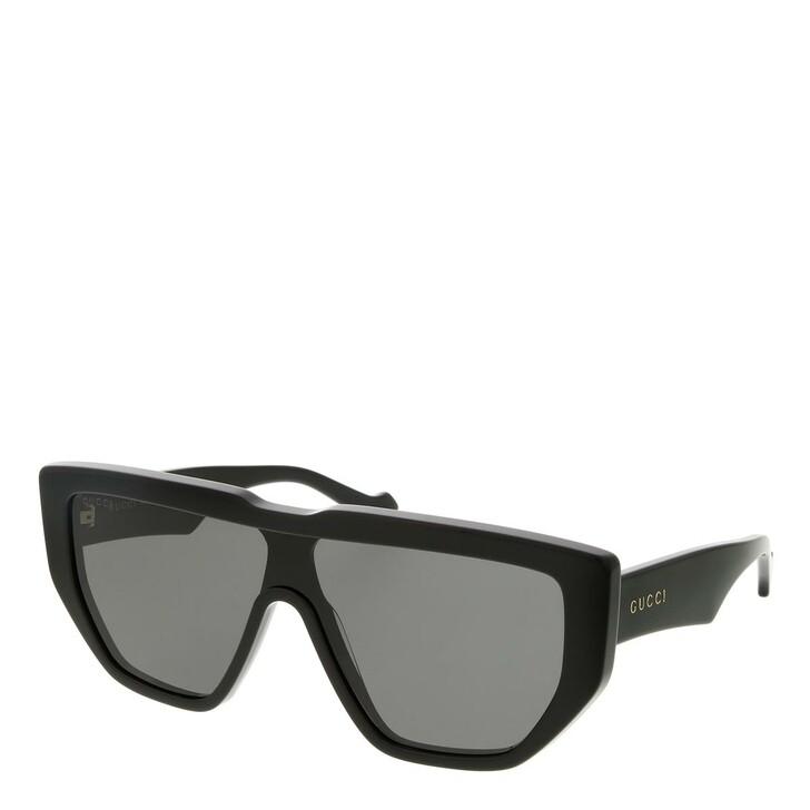 sunglasses, Gucci, GG0997S-002 99 Sunglass Man Acetate Black-Black-Grey