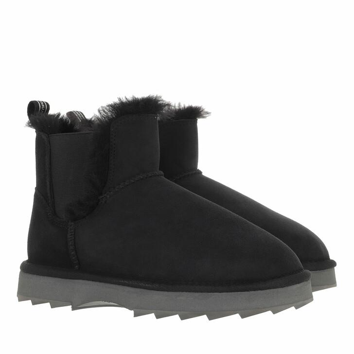 shoes, EMU Australia, Thresher Boot Sheepskin Black
