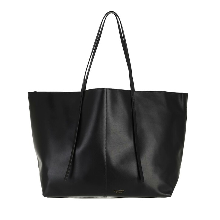 bags, By Malene Birger, Abilla Medium Leather Handbag  Black