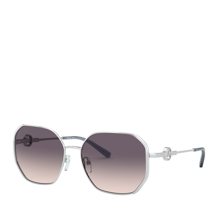 Sonnenbrille, Michael Kors, METALL WOMEN SONNE SILVER