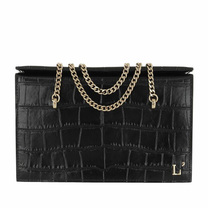 Handtasche, L´Autre Chose, Kokko Cross Body Bag  Black