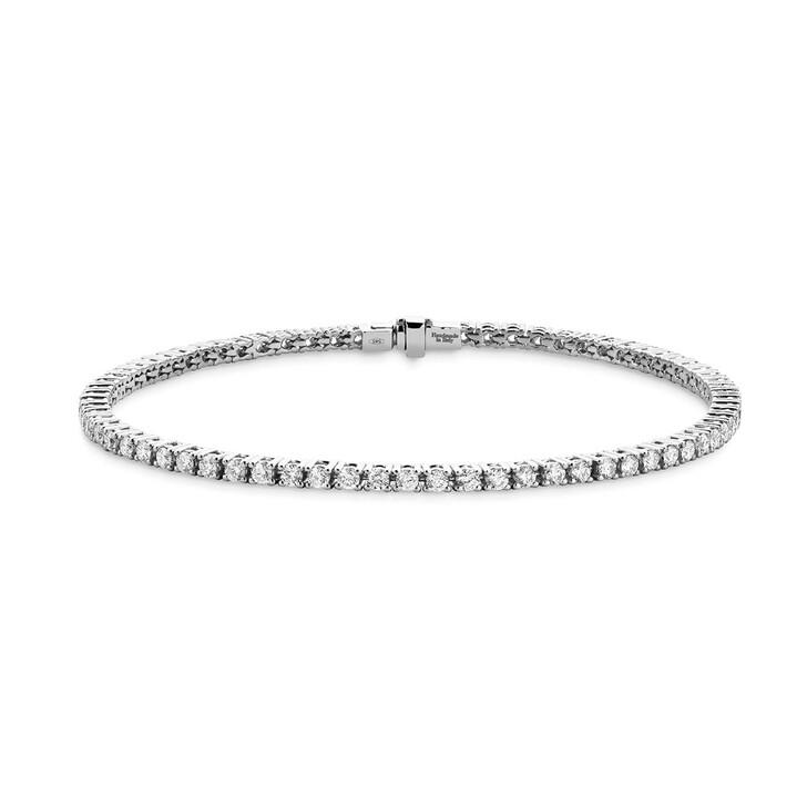 Armreif, DIAMADA, 2ct Diamond Tennis Bracelet  14KT White Gold