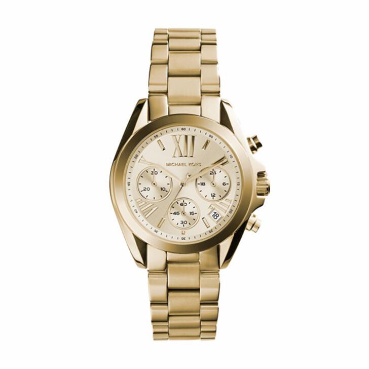 Uhr, Michael Kors, MK5798 Bradshaw Watch Gold-Tone
