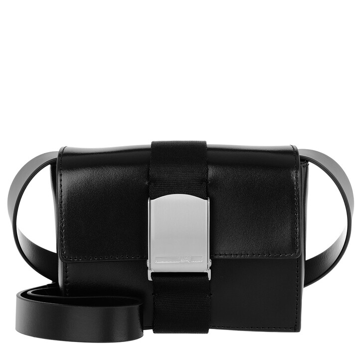 Handtasche, McQ, Christine Deluxe Small Crossbody Bag Black