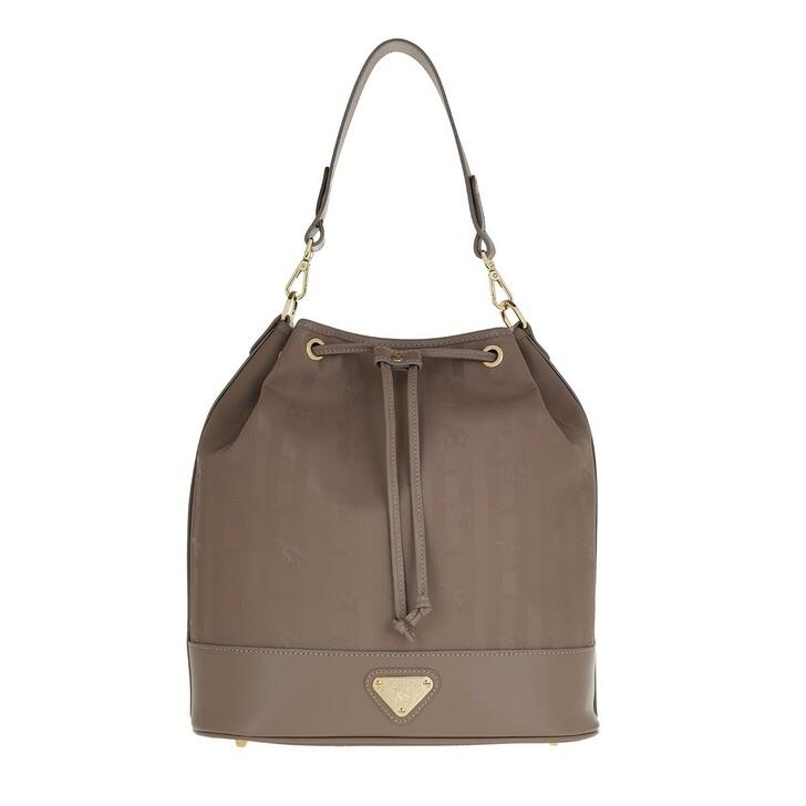 bags, Maison Mollerus, Niesen Bucket Bag Taupe/Gold