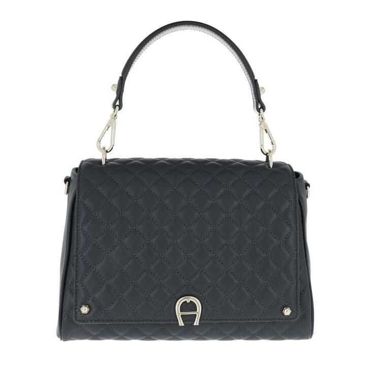 bags, AIGNER, Garda M Crossbody Bag Night Grey