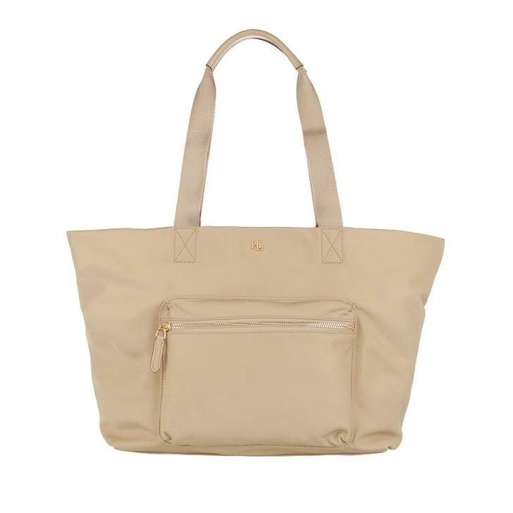 Handtasche, Lauren Ralph Lauren, Canton 35 Tote Medium Birch Tan