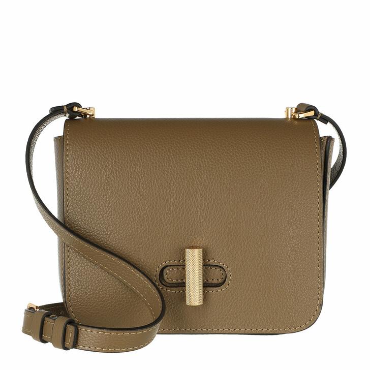 Handtasche, Coccinelle, Fedra Mini Flap Crossbody Bag Moss Green