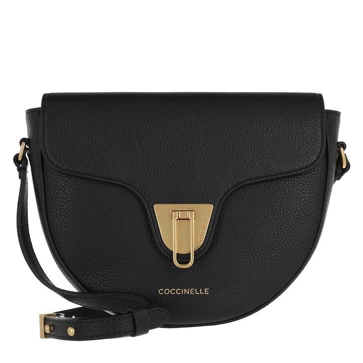 Handtasche, Coccinelle, Beat Soft Mini Flap Crossbody Bag Noir