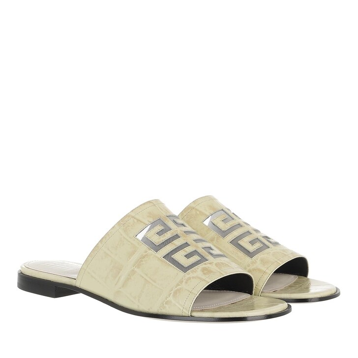Schuh, Givenchy, Slipper Off White
