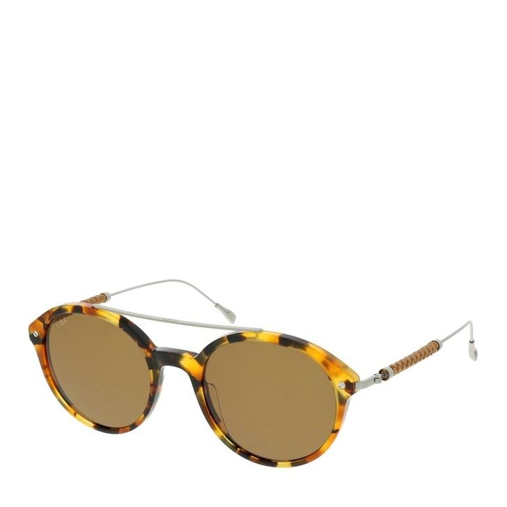 Sonnenbrille, Tod's, TO0285 KUNSTSTOFF SONNENBRILLEN Schwarz Glanz