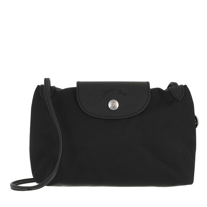 bags, Longchamp, Le Pliage Néo Crossbody  Black