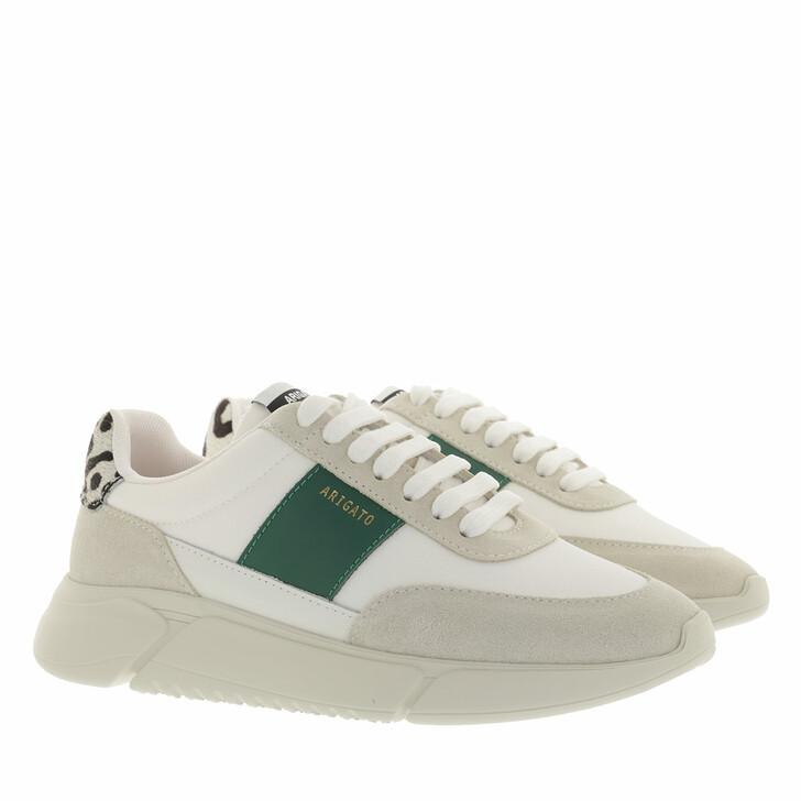 shoes, Axel Arigato, Genesis Vintage Runner White/Kale Green