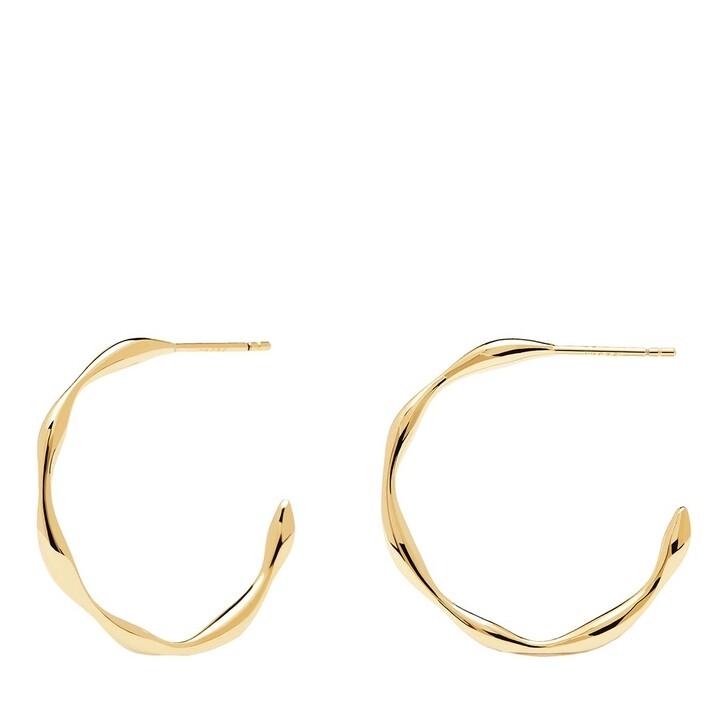 Ohrring, PDPAOLA, Earrings Vanilla Yellow Gold