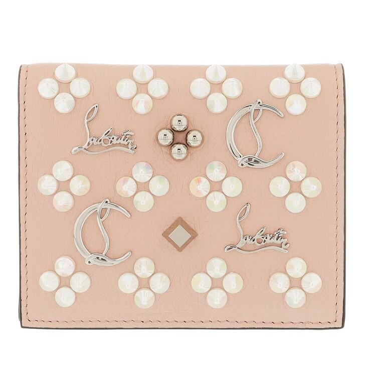 wallets, Christian Louboutin, Paloma Small Wallet Rose