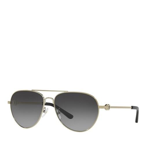 tory burch -  Sonnenbrille - 0TY6083 - in gold - für Damen
