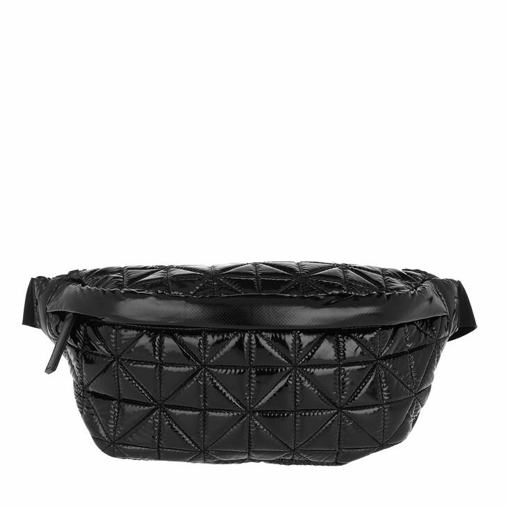 Handtasche, VeeCollective, Fanny Pack Vinyl Black