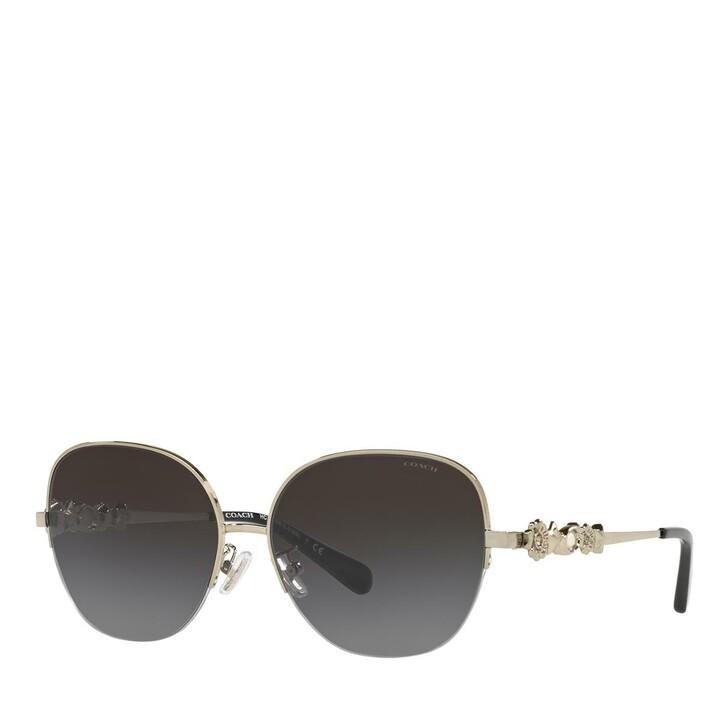 Sonnenbrille, Coach, 0HC7118B Light Gold/Dark Grey