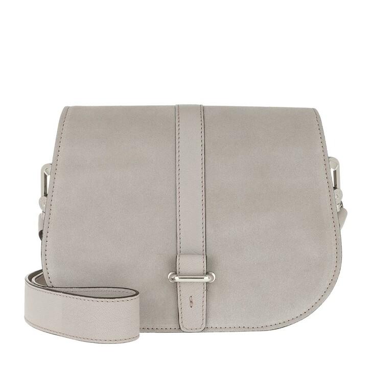 Handtasche, Abro, Crossbody Bag Saga Small Light Grey