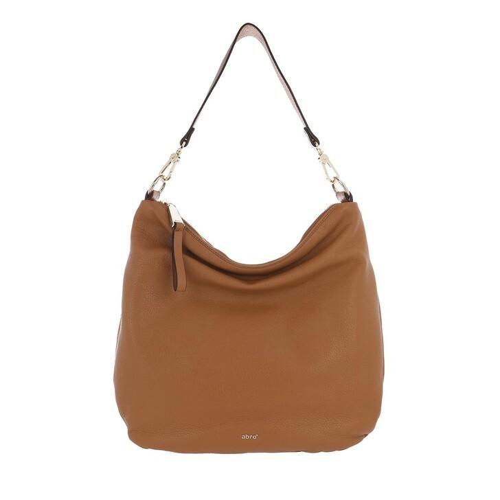 Handtasche, Abro, Dalia Bucket Bag Leather Cuoio