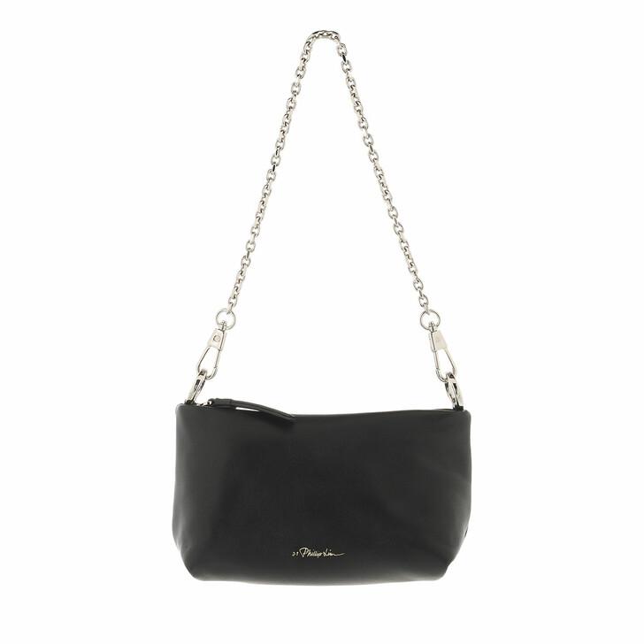 bags, 3.1 Phillip Lim, Mini Croissant Bag Black
